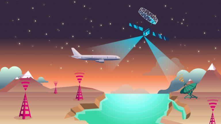 Associações sugerem padrões de conectividade em voo e de IoT
