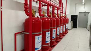 Gás anti-incêndio: preocupação ambiental