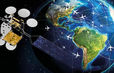 Viasat fornecerá capacidade satelital para banda larga em aeronaves da Bombardier