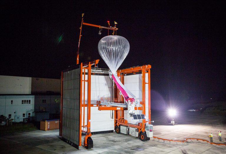 Divisão do Google de conectividade com balões quer parceria com operadoras móveis