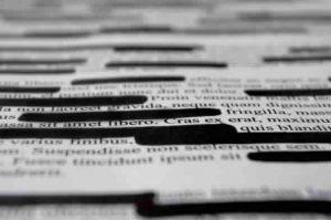 texto corrigido, eliminado, alterado