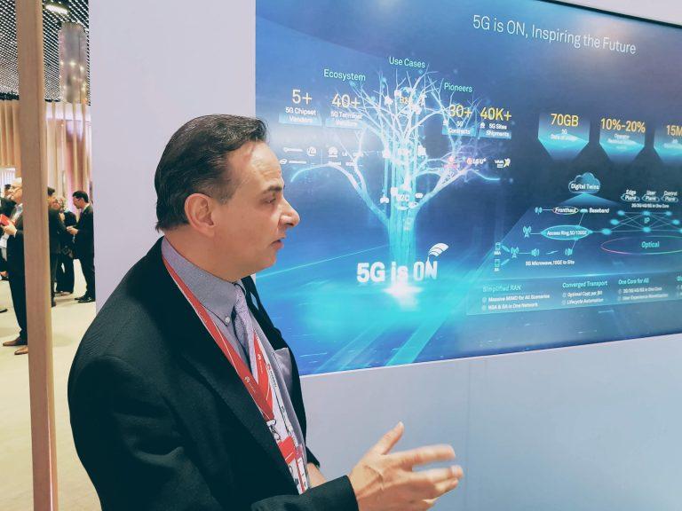 Blocos de 50 MHz para 5G no Brasil podem ser suficientes a princípio, diz executivo da Huawei