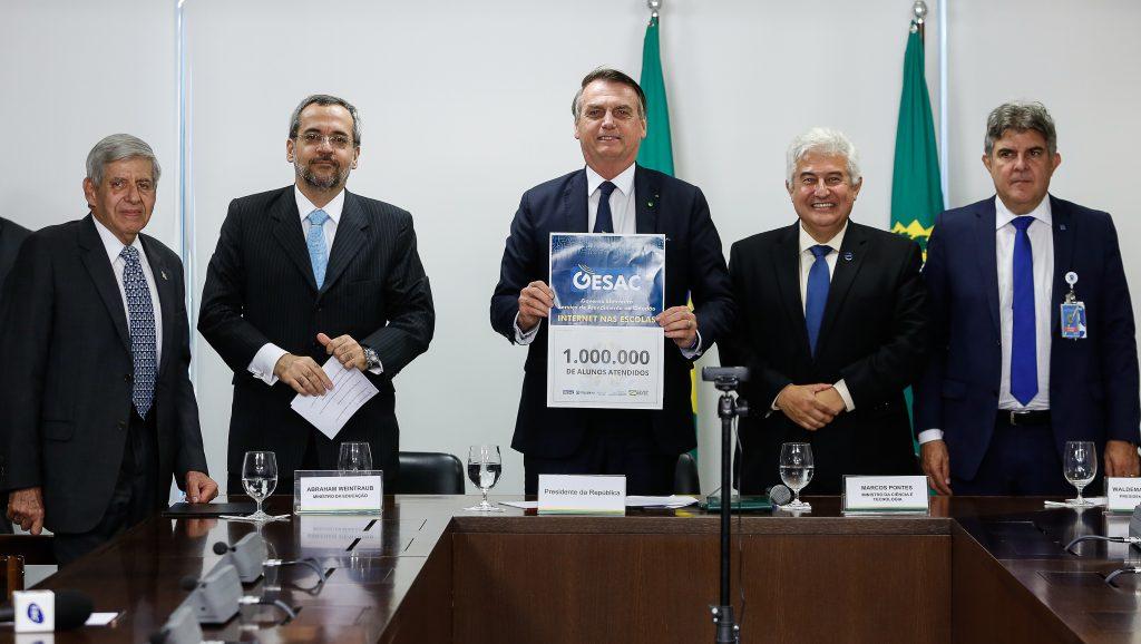 Resultado de imagem para Evento no Planalto anuncia o atendimento de um milhão de estudantes com acesso a internet