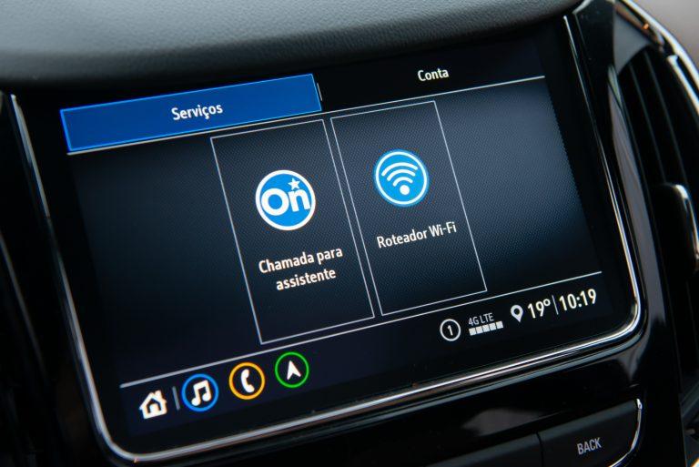 Claro fornece rede 4,5G para carro com Wi-Fi a bordo da Chevrolet