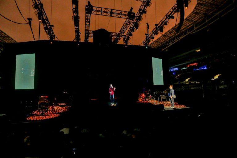 Claro e Ericsson testam transmissão holográfica 5G durante show em SP