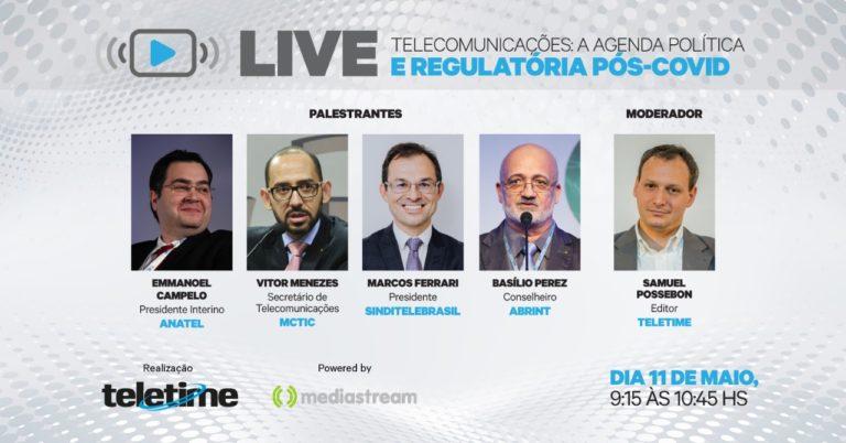 TELETIME discute cenário político-regulatório pós-COVID