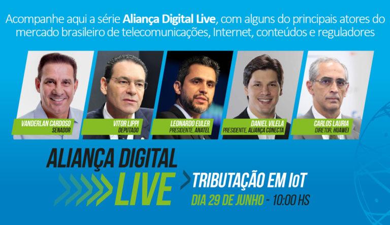 Aliança Conecta Brasil F4 realiza painel digital sobre tributação em IoT