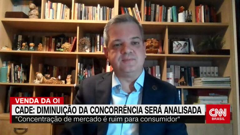 Cade mostra preocupação com concentração na venda da Oi para Claro, TIM e Vivo