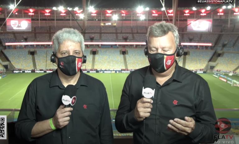 Transmissão de jogo do Flamengo na Internet causa impacto na rede da Claro