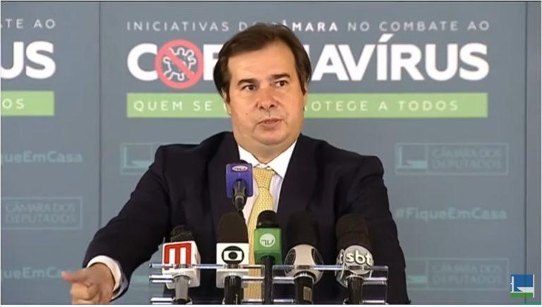 Maia: relator do PL das fake news será escolhido depois de novo texto