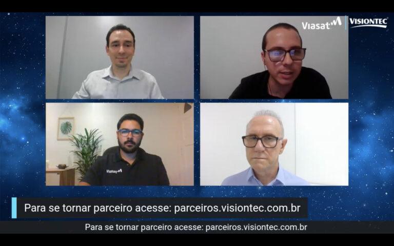 Viasat e Visiontec abrem credenciamento de parceiros