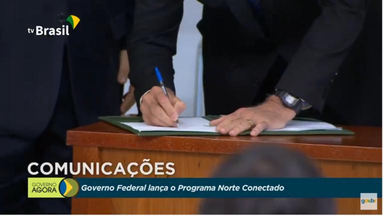 Governo assina decreto que regulamenta Lei das Antenas