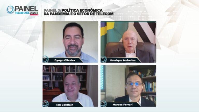 Infraestrutura e produtividade são os caminhos da recuperação econômica, avalia Meirelles