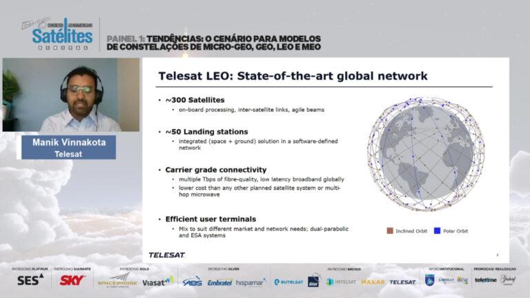 Telesat espera fechar contrato para fabricar constelação LEO até final do ano