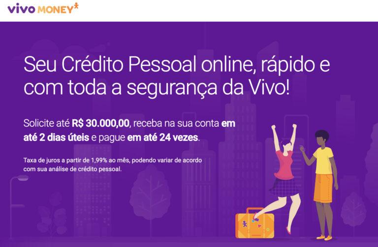 Vivo lança crédito pessoal para clientes