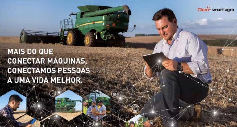 Claro pretende cobrir 100 milhões de hectares de área rural em 2021