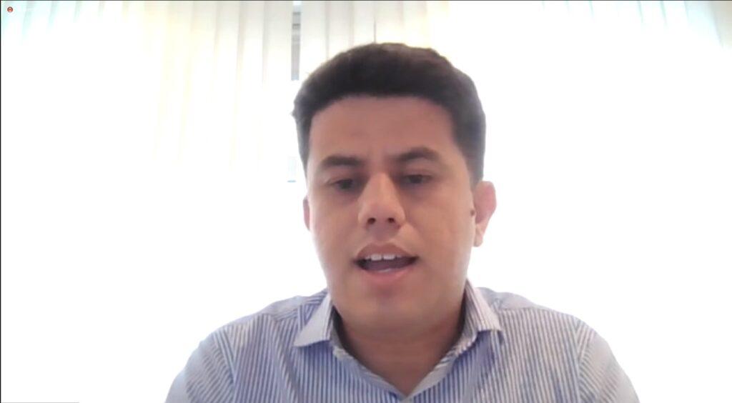 Luiz Henrique Barbosa, presidente da Telcomp