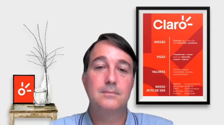 Terminais compatíveis com 5G DSS representam 1% dos acessos na Claro