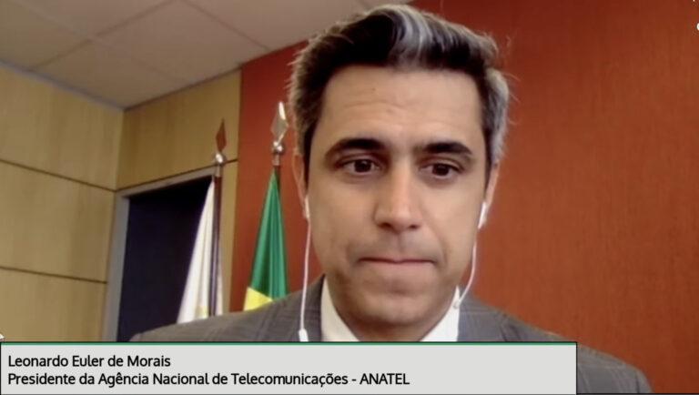 Presidente da Anatel diz que 90% do valor do leilão de 5G será convertido em investimentos