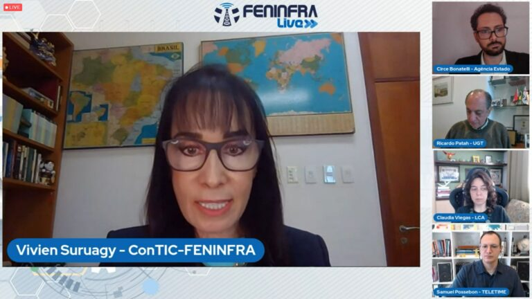 Feninfra defende preços 'claros e factíveis' para leilão de 5G