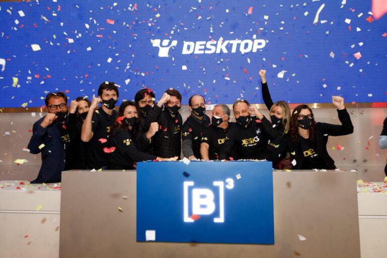 Desktop conclui IPO e promete competição com grandes nacionalmente